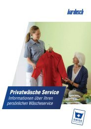 Informationsblatt Privatwäsche Service
