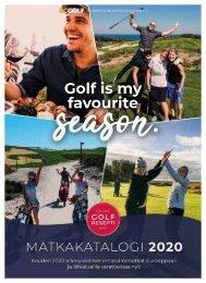 Golfresepti Matkakatalogi 2020