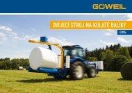 CZ | Ovíjecí stroj na kulaté balíky | G1015 | Goeweil