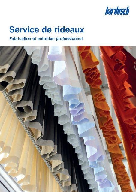 Service de rideaux