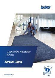 Service-Tapis
