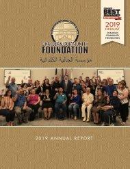Chaldean Community Foundation - Annual Report 2019