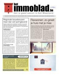 Het Immoblad van 10 maart 2020 editie Waasland