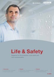 Life & Safety 01|2010 - Honeywell Life Safety Austria and