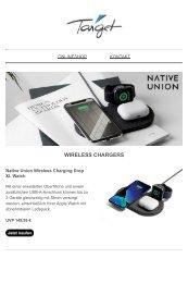 Native Union: Tech-Accessoires neu interpretiert