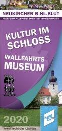 Kultur im Schloss 2020