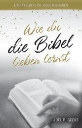 Wie du die Bibel lieben lernst