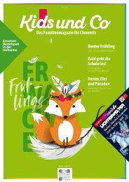 Kids und Co Chemnitz, Ausgabe Frühling 2020