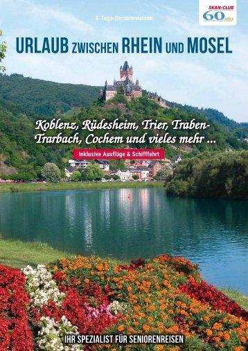 Urlaub zwischen Rhein und Mosel
