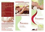 Hotel Sacher-Stoiber - Preisliste Kosmetik, Therapie, Wellness