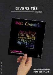 Diversités Magazine - Hors-série n°3 : Mars Diversités fête ses 10 ans