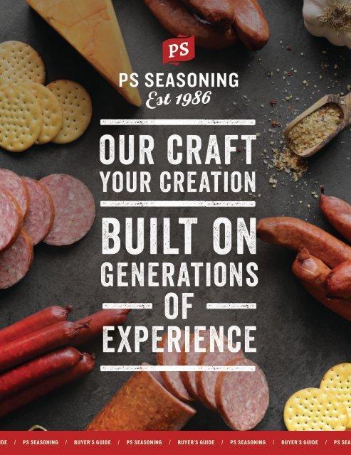 PS Seasoning B2B Buyers Guide Spring 2020