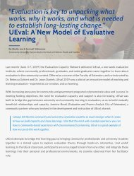 UEval: A New Model of Evaluative Learning