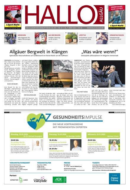 Hallo-Allgäu Kempten, Oberallgäu, Westallgäu vom Samstag, 07.März