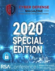 Cyber Defense Magazine Special Annual Edition for RSA Conference 2020 (A4 - International Format)