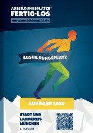 AUSBILDUNGSPLÄTZE - FERTIG - LOS | Stadt und Landkreis München 2020