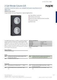 2-Cell Blinder Column S/E - Lightpower