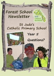 Forest School Year 5 Winter 2020 Newsletter Week