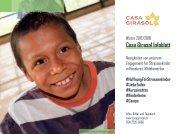 Infoblatt des Missionswerks Casa Girasol / Winter 2017-2018 - Unser Engagement für Kinder in Not