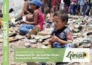 Infoblatt des Kinderhilfswerks Casa Girasol / Winter 2018-2019 - Neues von der Missionsarbeit in Honduras