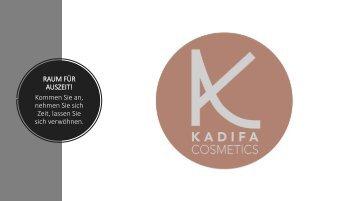 KADIFA cosmetics Gewerbe GV 28 Februar 2020