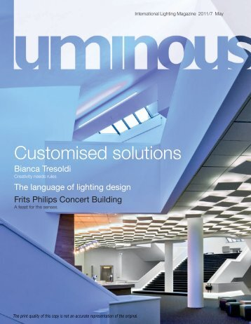Download pdf - Philips Lighting & Www.lighting.philips.com Magazines