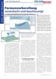 Formenvorbereitung vereinfacht und beschleunigt - Lino GmbH