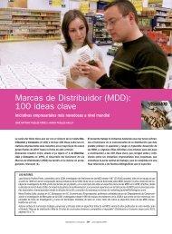 Marcas de Distribuidor (MDD): 100 ideas clave