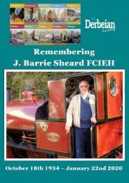 Remembering Barrie J Sheard