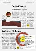 Gelb. Die Kundenzeitung von Klingspor - Ausgabe 1|2020 - Seite 6