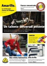 Amarillo. La revista de los clientes de Klingspor Edición 1|2020