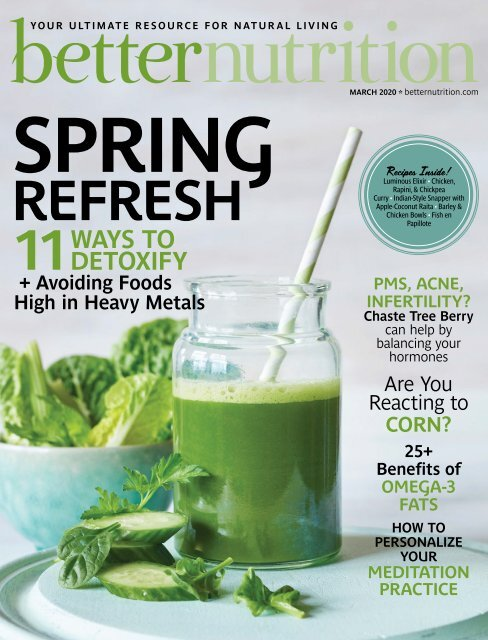 Better Nutrition March 2020