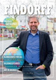 FINDORFF Magazin | März-April 2020