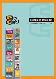 CityCards Mediadaten
