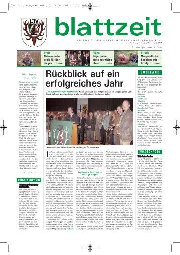 blattzeit, Ausgabe 2-08