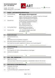 Sicherheitsdatenblatt Art-Asagran-Gummigranulat - ART Asamer