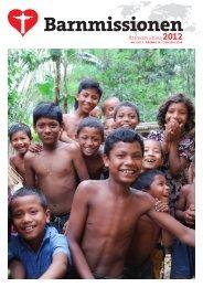Barnmissionen verksamhetsberättelse 2012