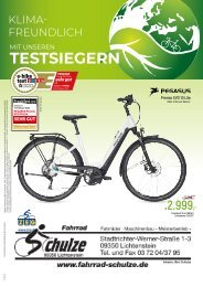 Fahrrad Schulze - 19.03.2020