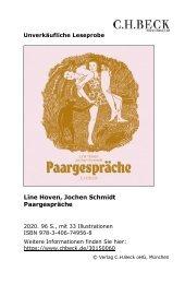 Hoven, Line / Schmidt, Jochen Paargespräche