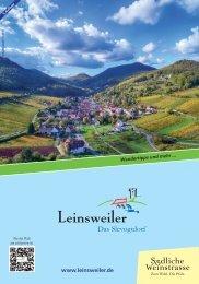 Ortsprospekt Leinsweiler