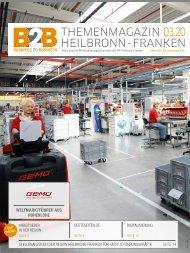 WELTMARKTFÜHRER AUS DER REGION HOHENLOHE | B2B Themenmagazin 03.2020