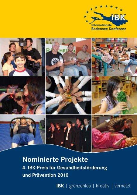 Nominierte Projekte - bis zum IBK-Preis