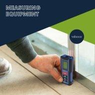 Catalogue Measuring Equipment