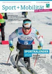 Sport + Mobilität mit Rollstuhl 01/2020