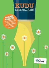 KUDU MAGAZIN: Das Lesemagazin Ihrer Lieblingsbuchhandlung – macht Lust auf Bücher und aufs Lesen! 2_28665_indiv3