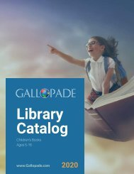 Gallopade Library Catalog