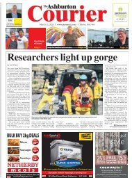 Ashburton Courier: March 12, 2020