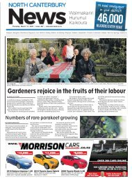 North Canterbury News: March 12, 2020