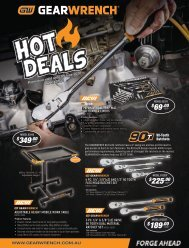 GEARWRENCH Q2 Hot Deals
