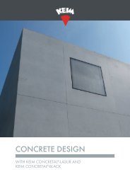 KEIM Concrete design